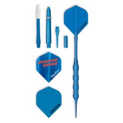 "Kings Dart® Softdartpfeile-Set ""Blue"""