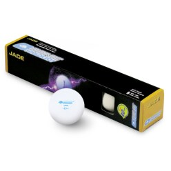 """Donic Schildkröt Tischtennisbälle """"Jade"""" 6x Weiß"""
