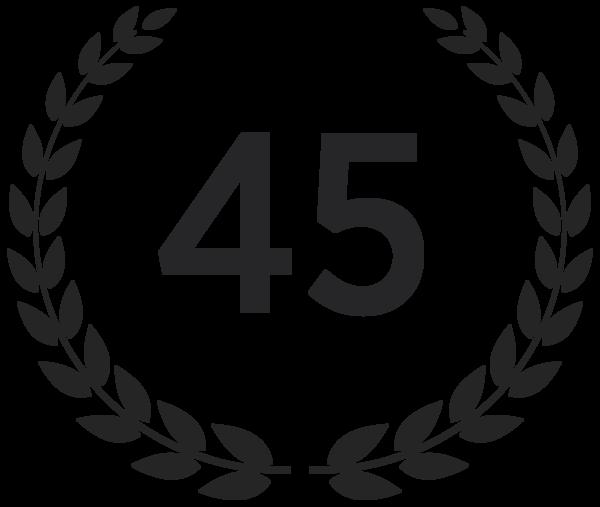 45 Jahre Erfahrung