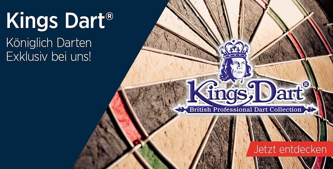 Kings Dart®: Exklusiv bei Automaten Hoffmann