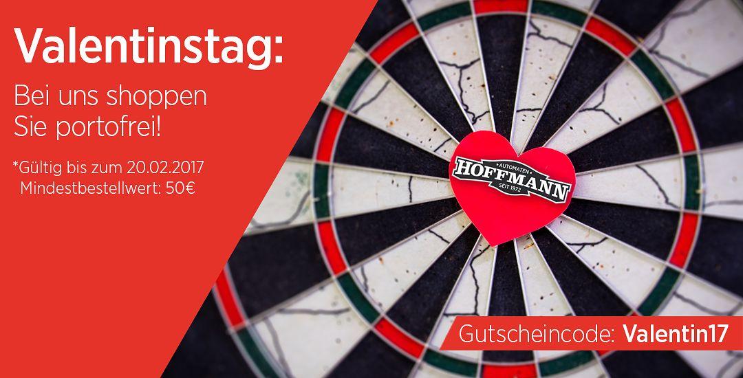 Valentinstag: Bei Automaten Hoffmann shoppen Sie portofrei!
